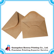 free sample custom luxury kraft paper envelope printing