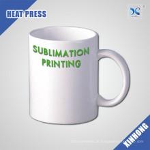 Großhandel leicht zu personalisieren Logo 11oz leere Keramik-Kaffeetasse