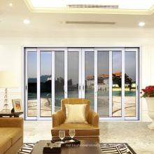 Fenêtre coulissante insonorisée en aluminium de l'épaisseur 2.0 de haute résistance de deux rails