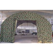 Grande tenda militar impermeável de PVC selada
