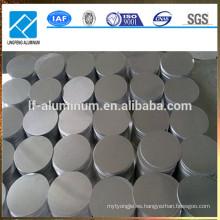 1060 1100 1200 O H12 círculo de aluminio para olla / utensilios de cocina