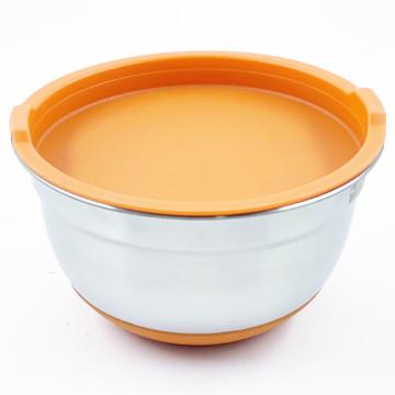 Juego de cuencos para ensaladas populares de acero inoxidable Ktchenware