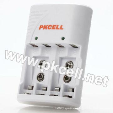 PKCELL 8175 para ni cd 2 3 aa cargador de batería recargable