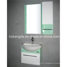 Cabinet de salle de bains en PVC / vanité de salle de bain en PVC (KD-299C)