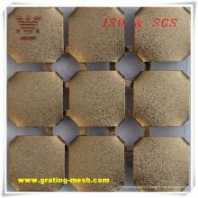 Maille décorative / en métal de rideau de l'usine d'Anping (ISO)