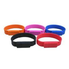 Promotion stilvolle Silikon Armband USB-Laufwerk