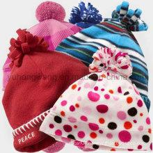 Hot Selling Knitted Polar Fleece Hat/Cap