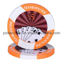 11.5g ABS Texas Holdem Sticker Chip (SY-D16)