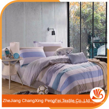 Fashion printed brushed polyester bed sheet fabric for household