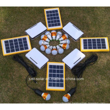 Solar Home Power LED Lighting Lights System with 3PCS Lamp