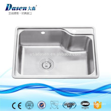 DS6245 kitchen sinks stainless steel bathroom patterned ceramic sink