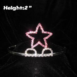 Cheap Simple Crystal Star Tiaras