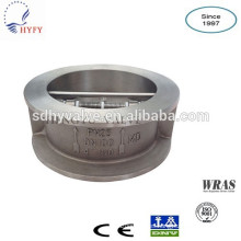 double plate/disc stainless steel check valve