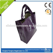 Good quality wholesale cheap pvc leather bag made in china