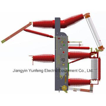 Interrupteur à rupture de charge intégré auto-centré - Fzrn35-40.5D