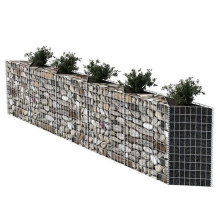 Mur de soutènement en gabion rectangulaire