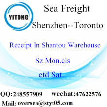 Shenzhen Port LCL Consolidation To Toronto