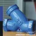 O aço inoxidável 304 / A351 CF8 rosqueou / tipo de NPT Pn16 filtro de Y / filtro