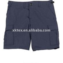 pantalones cortos de trabajo azul marino para hombres