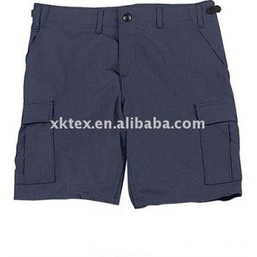 calça de trabalho curta marinha para homens