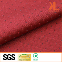 Polyester Jacquard Red/Navy Inherently Fire/Flame Retardant Fireproof Fabric