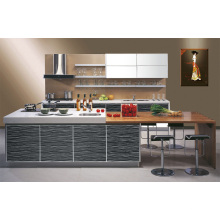 Модный акриловый дизайн кухни в стиле Demet