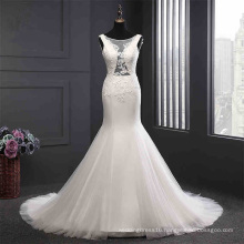 Custom Made Mermaid Bridal Evening Dress Wedding Gown
