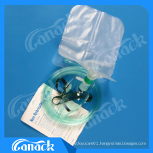 Disposable Oxygen Mask with Oxygen Bag