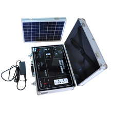 battery powered home energy container portable Solar panel power system