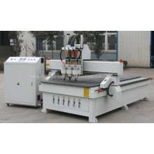 Pneumatic Three Heads Woodworking CNC Router Machine