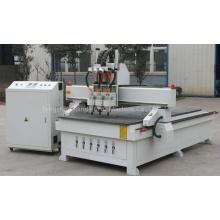 Máquina pneumática do router do CNC do Woodworking de três cabeças