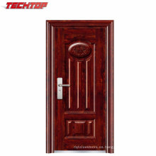 TPS-048 China Entrada de acero simple Puerta exterior barata