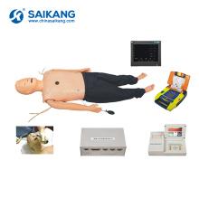 Manequim avançado médico do CPR do treinamento SKB-6A002 para a emergência