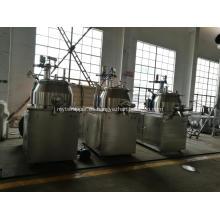 Máquina granuladora mezcladora de alto cizallamiento