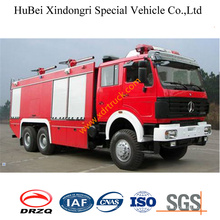 12ton North Benz Foam Tender Fire Truck Euro3