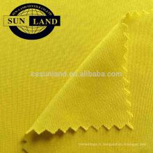 Jersey simple tricoté à 100% de polyester pour la doublure de la robe