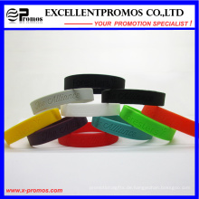 Personalisierte Werbe-Silikon-Gummi-Armband (EP-W58407)
