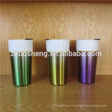 taza de sublimación personalizados producto moda alta calidad acero inoxidable por mayor