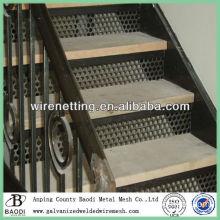 perforated metal rack