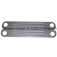 Placa e junta de substituição para o trocador de calor Funke Fp14, Fp16, Fp20, Fp22, Fp31, Fp40, Fp41