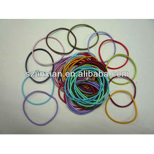 any colors elastic loop for decoration hair