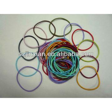 cualquier lazo elástico de colores para el pelo de decoración