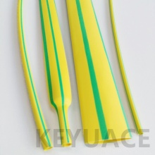 Kuning Hijau Flame Retardant Heat Shrink Sleeve