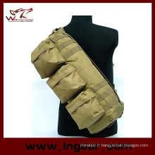 Équipement militaire tactique Camouflage Airsoft allez Pack sac à bandoulière