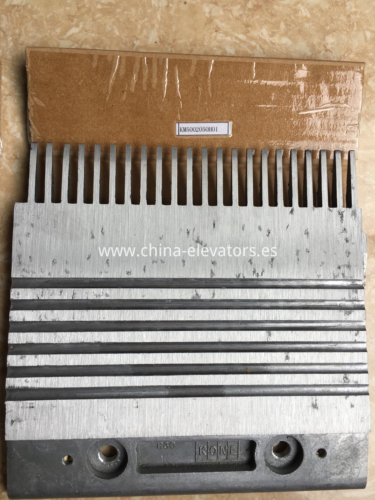 R3C Aluminium Alloy Combs for KONE Moving Walks
