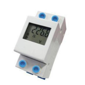Power Supply Single Phase Guide Rail Electric Energy Meter From