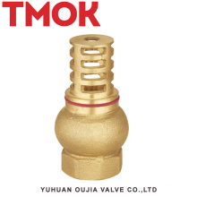 full brass swing chrome plated high quality foot valve