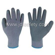 Guante de látex trabajo para invierno (LY3011)