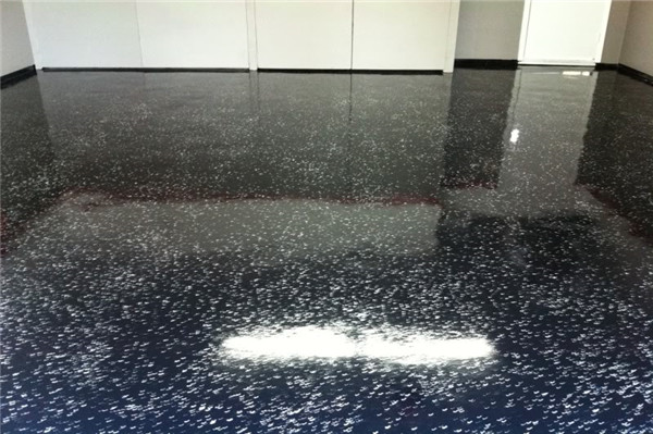 Clear Epoxy over Concrete