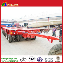 Transport Transformers Hydraulic Multi Rotary Axles Tower Trailer